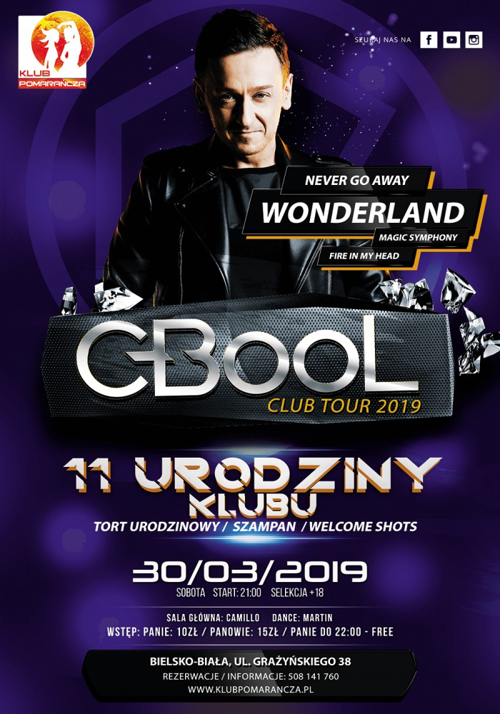 C-BOOL - Club Tour 2019