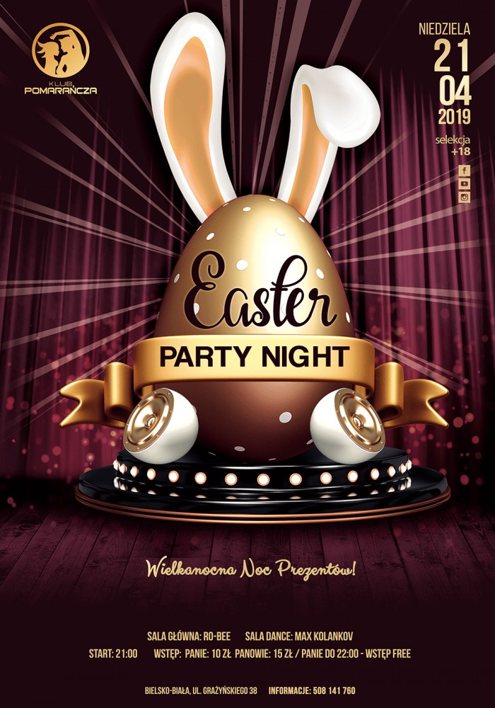 Easter Party Night!