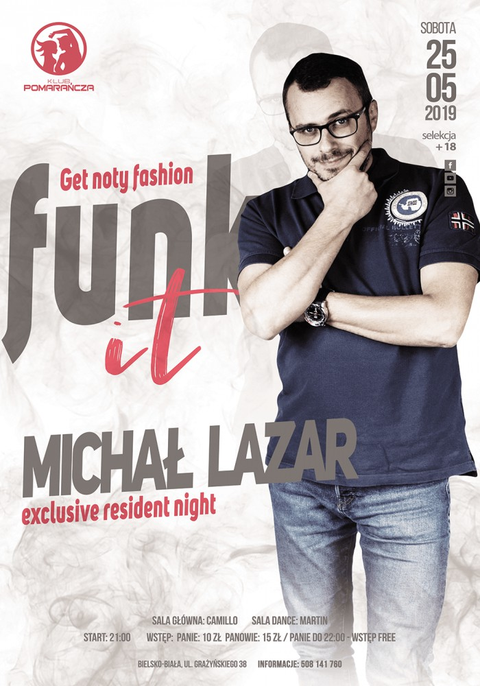 FUNK IT NIGHT - MICHAŁ LAZAR