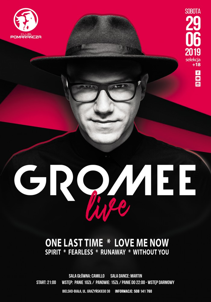 GROMEE - LIVE // ONE LAST TIME, LOVE ME NOW