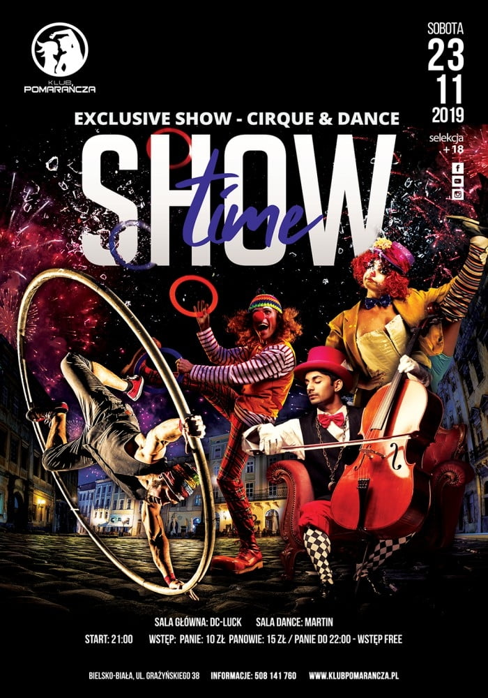 SHOW TIME -  EXCLUSIVE SHOW - CIRQUE & DANCE