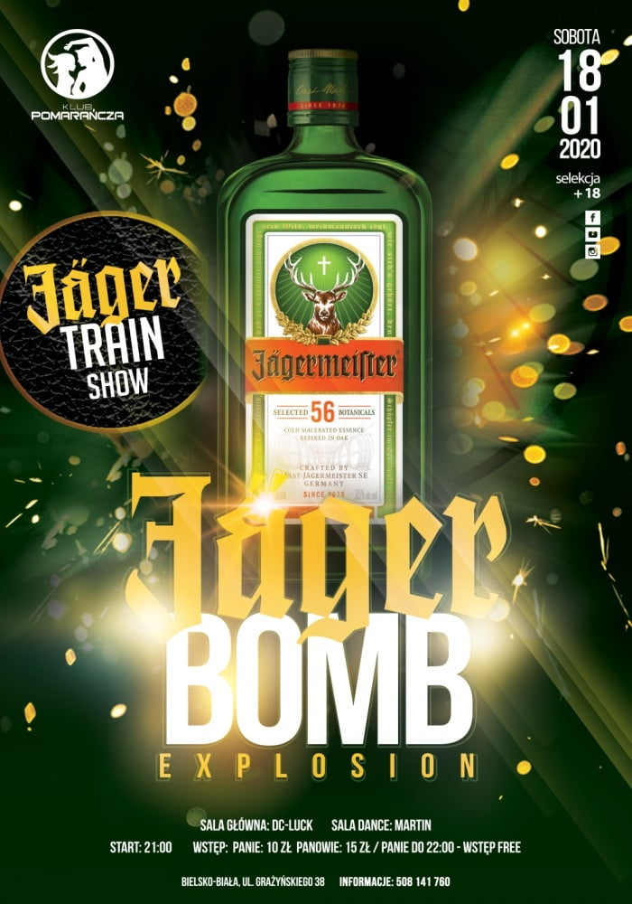 JAGER BOMB EXPLOSION