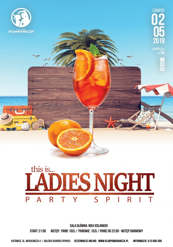 this is LADIES NIGHT