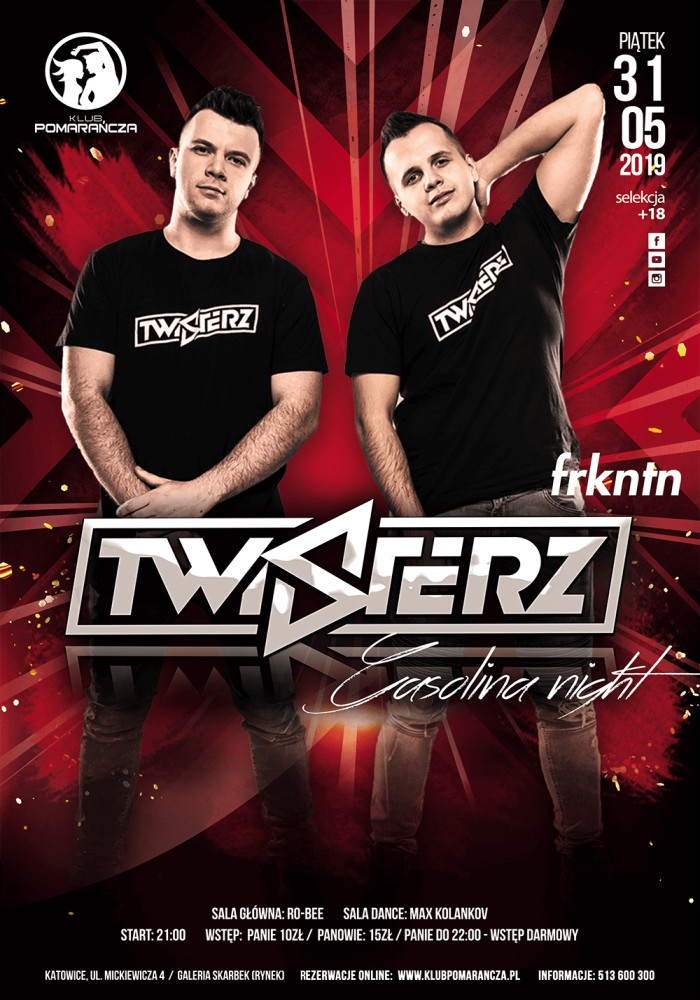 TWISTERZ - GASOLINA NIGHT