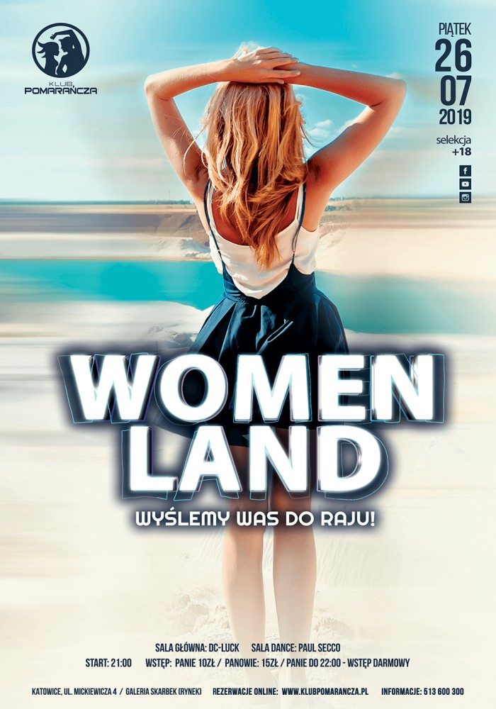 WOMEN LAND - ZABIERZEMY WAS DO RAJU