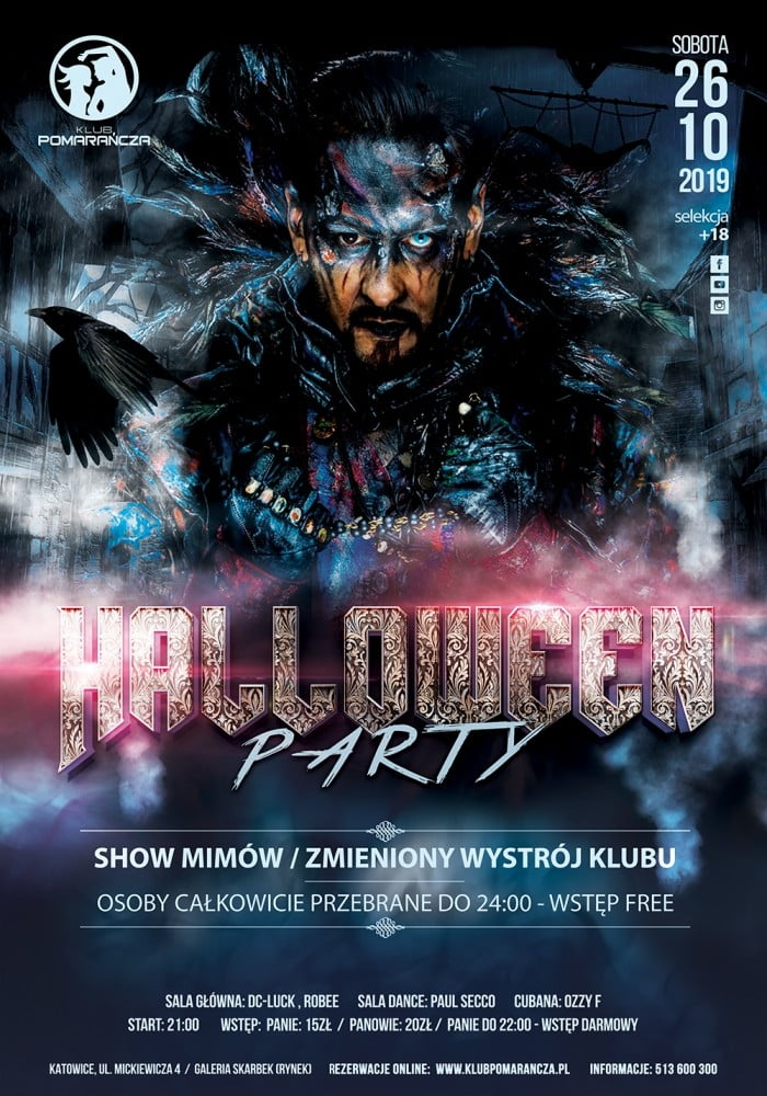HALLOWEEN PARTY - SHOW MIMÓW