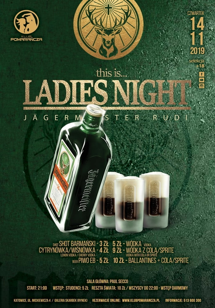THIS IS LADIES NIGHT - Jägermeister Rudi