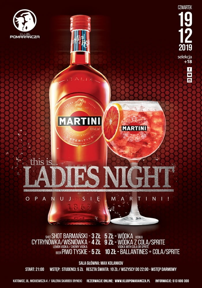THIS IS LADIES NIGHT  - ZAKOCHAJ SIĘ W MARTINI