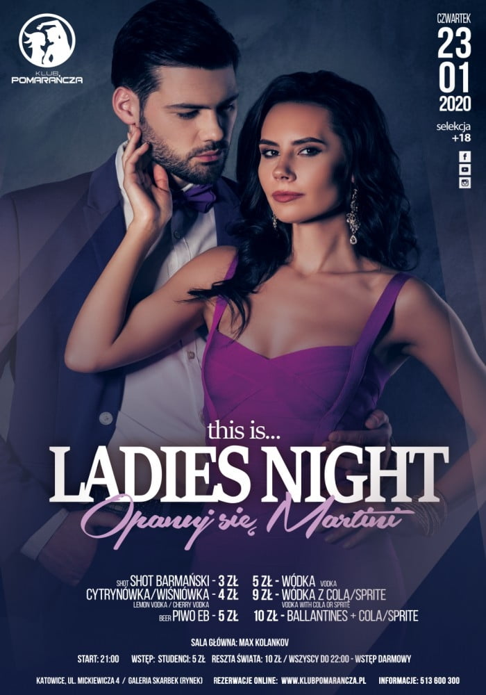 THIS IS LADIES NIGHT - OPANUJ SIĘ MARTINI