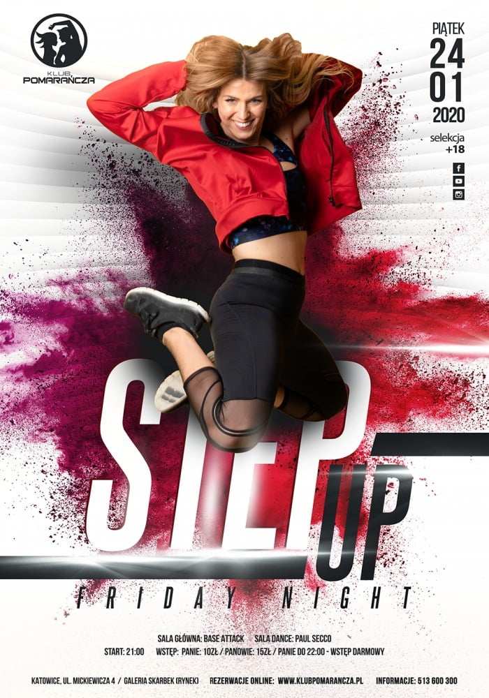 STEP UP FRIDAY NIGHT