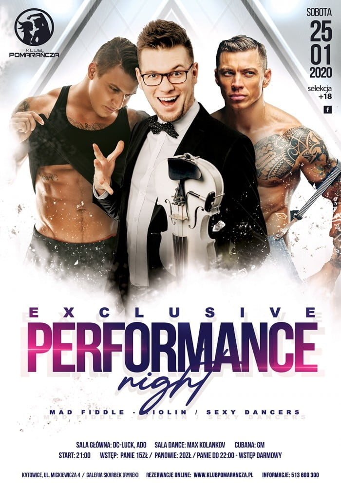 EXCLUSIVE PERFORMANCE NIGHT