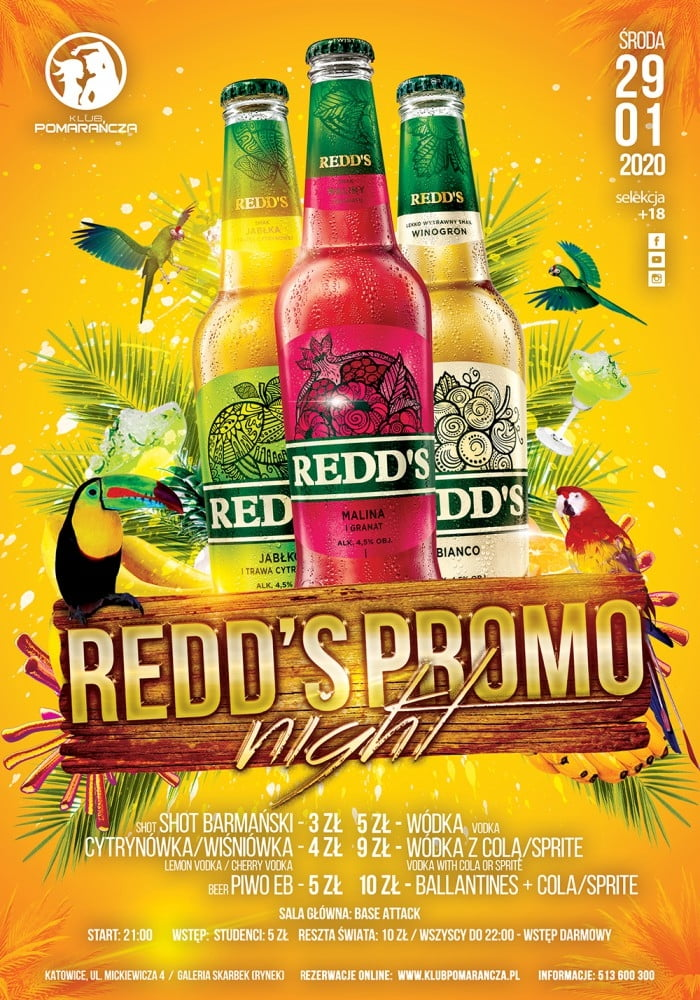 REDD'S PROMO NIGHT