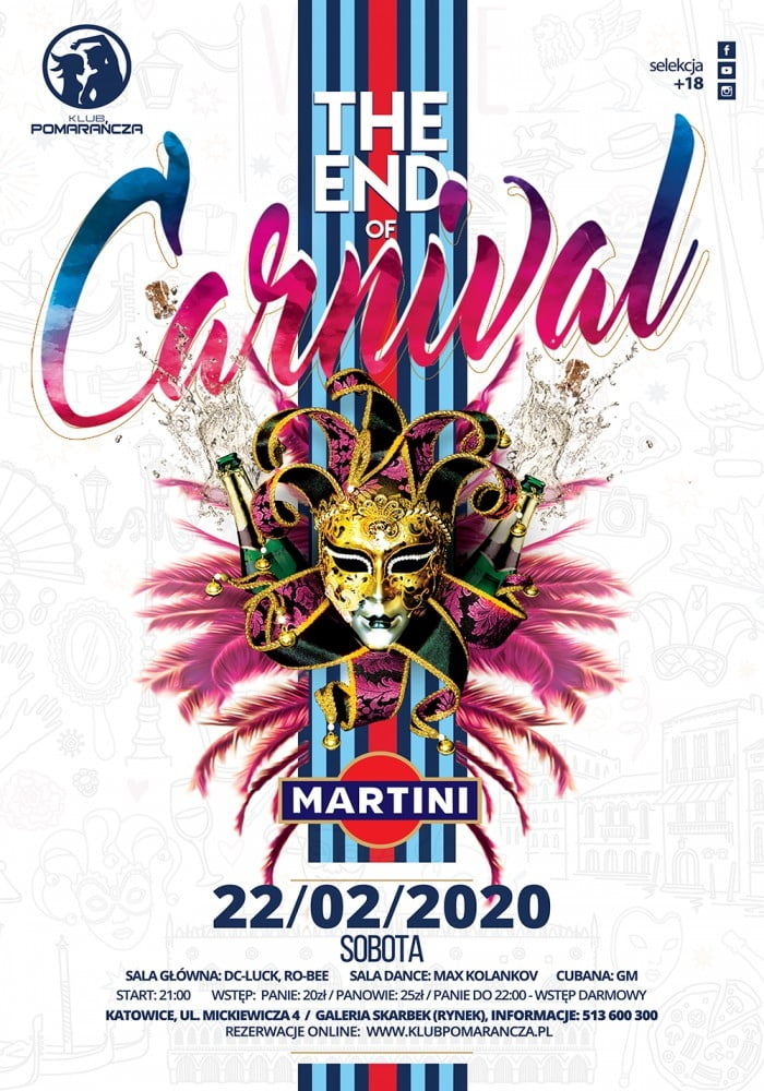 THE END OF CARNIVAL WITH MARTINI