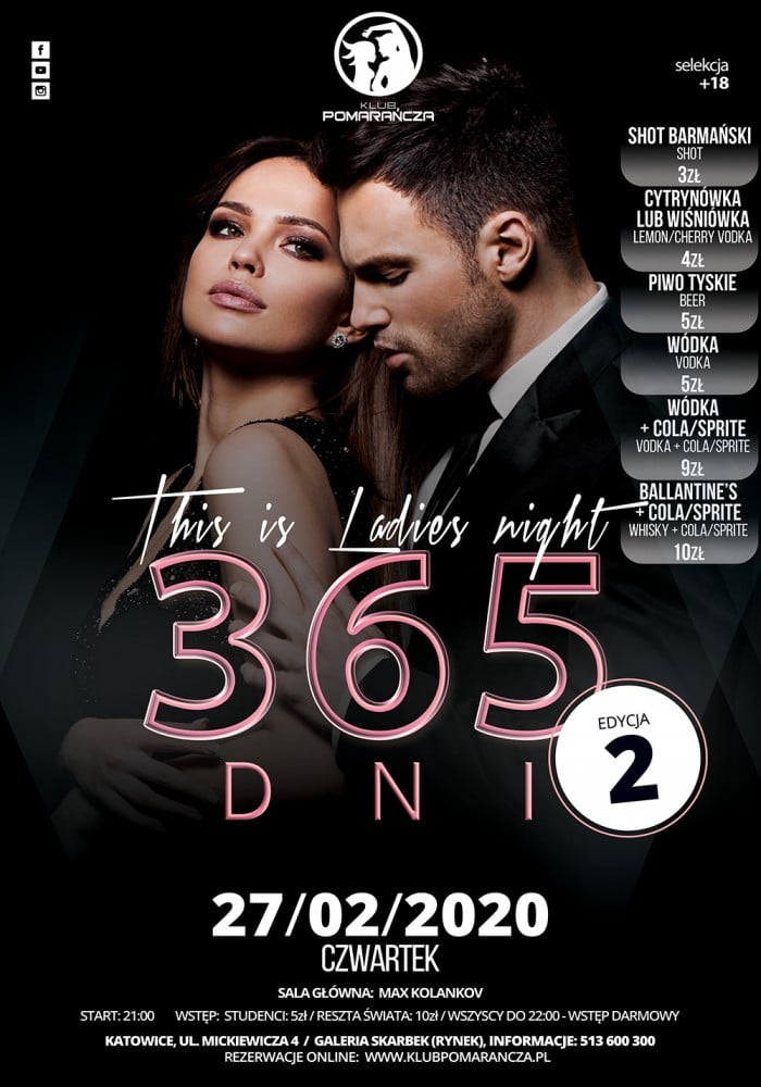 THIS IS LADIES NIGHT - 365 DNI