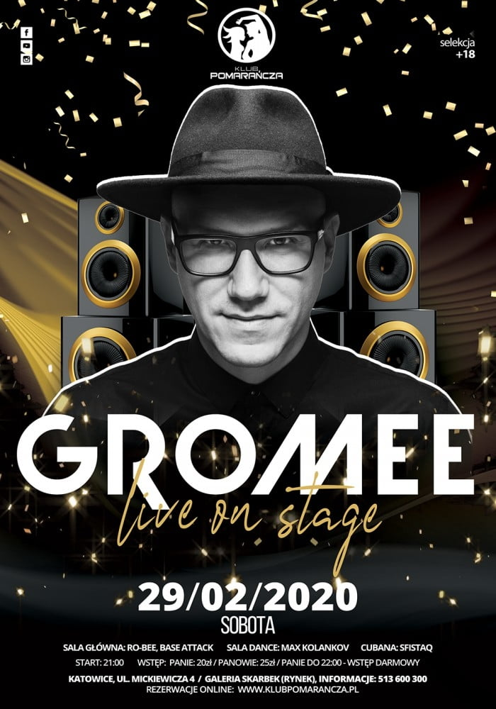 GROMEE - LIVE ON STAGE